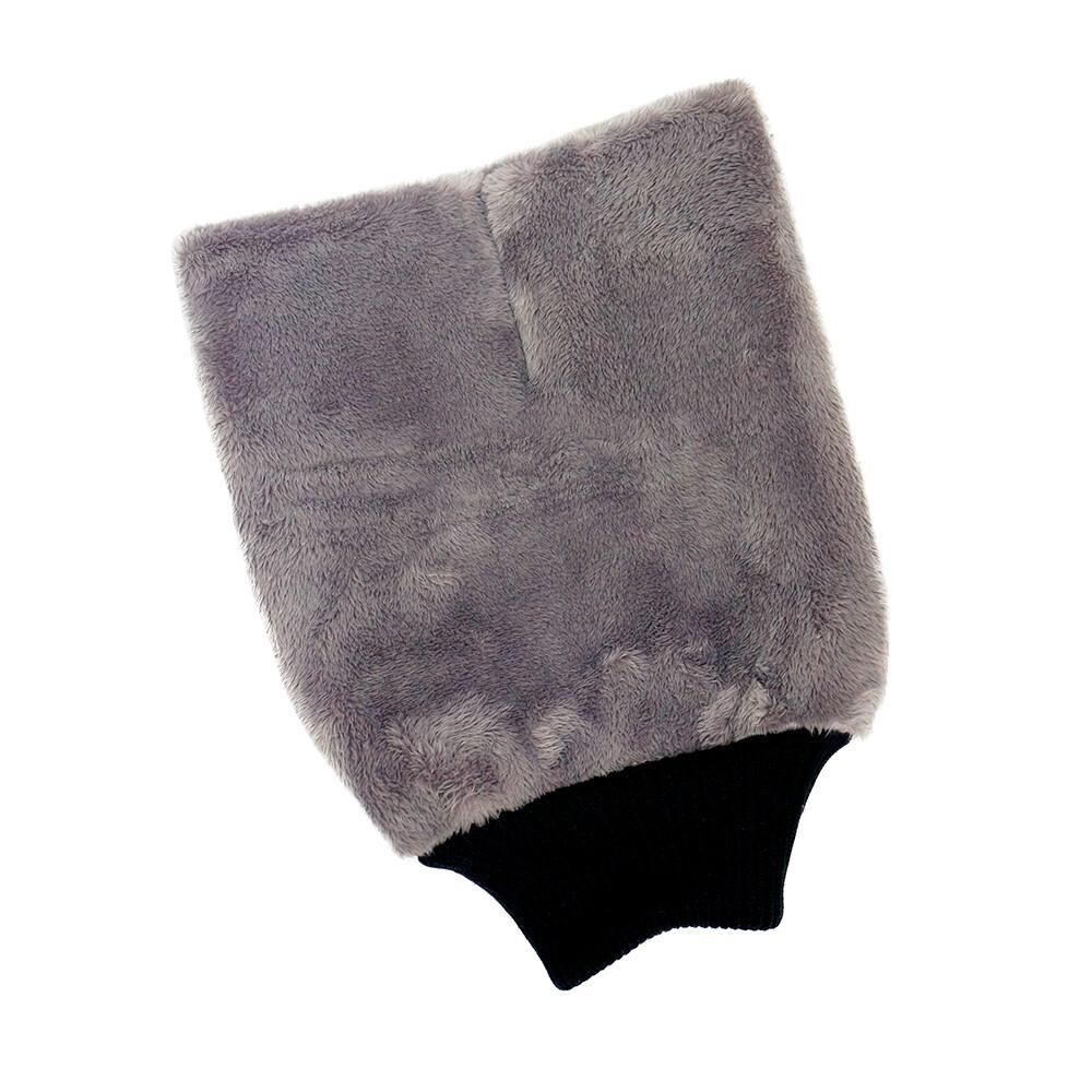 Варежка для мойки кузова плюшевая особо мягкая PURESTAR PLUSH WASH MITT, 20х27см