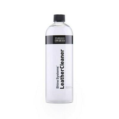 Деликатный очиститель кожи Shine Systems LeatherCleaner, 750мл