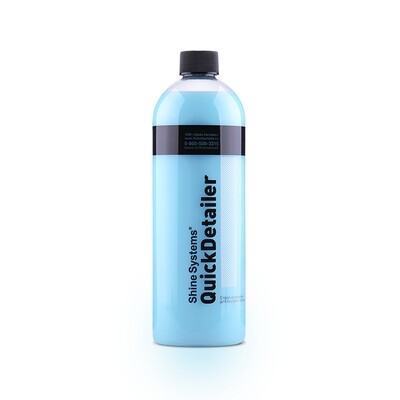 Спрей-очиститель для быстрого ухода за кузовом Shine Systems QuickDetailer, 750мл