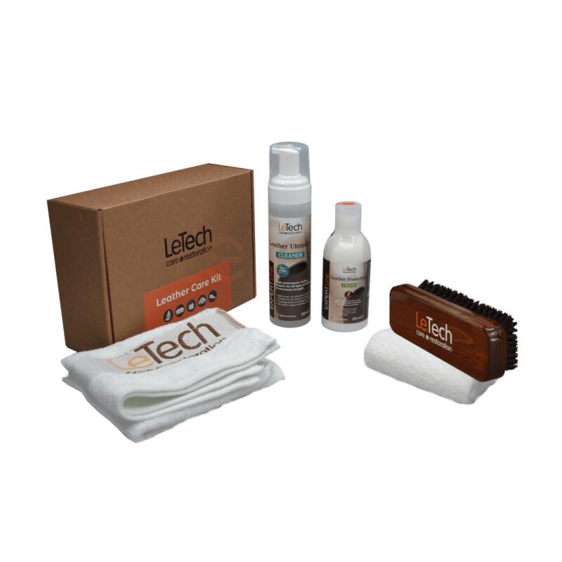 Набор для ухода за кожей LeTech Leather Care Kit COMPLETE