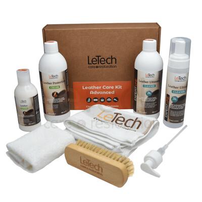 Набор для ухода за кожей LeTech Leather Care Kit ADVANCED