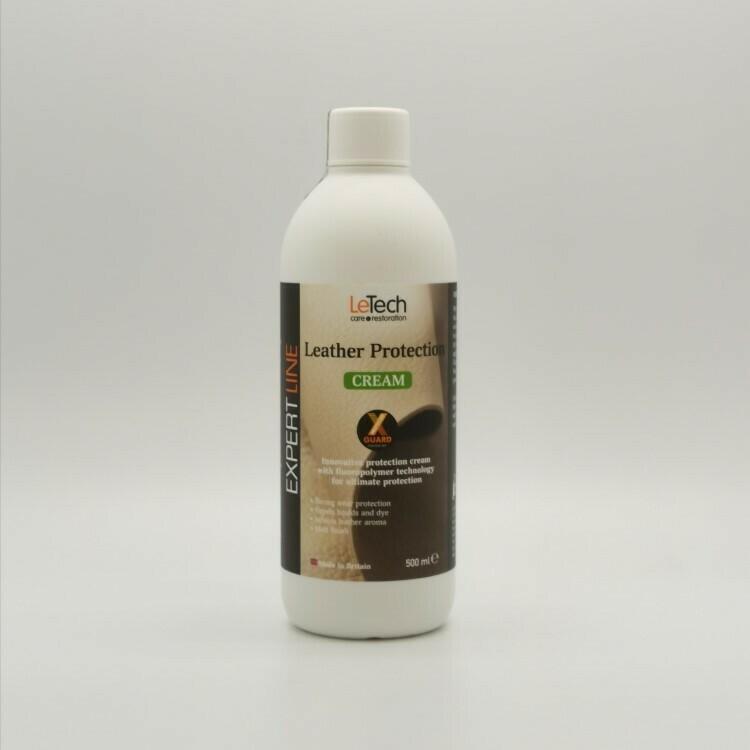 Кондиционер для кожи LeTech Leather Protection Cream X-GUARD, 500мл
