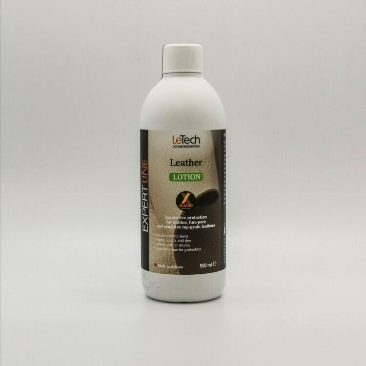 Защитный лосьон для кожи LeTech Leather Lotion X-GUARD, 500мл