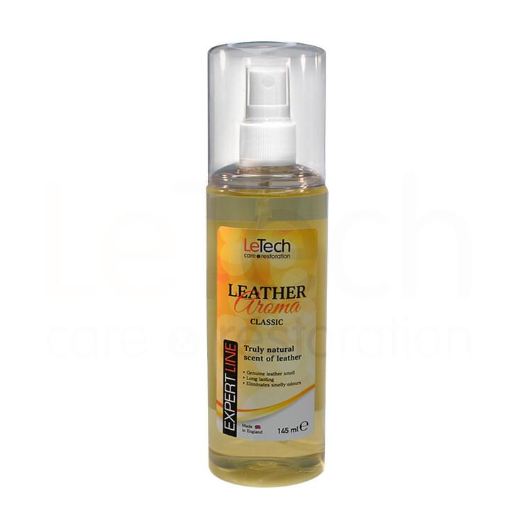 Ароматизатор с запахом натуральный кожи Классик LeTech Leather Aroma Classic, 145мл