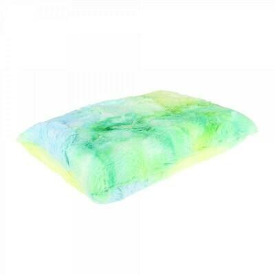 Губка для мойки кузова плюшевая особомягкая, Зеленая PURESTAR Color-pop pad, 15x23x5cm