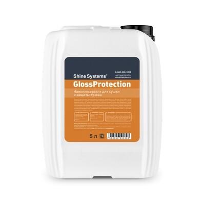 Жидкий воск для сушки кузова с Кварцем Shine Systems GlossProtection, 5л