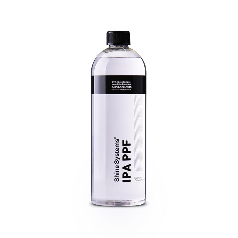 Обезжириватель на спиртовой основе не оставляет разводов Shine Systems IPA PPF, 750мл