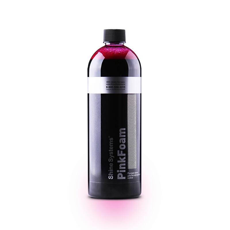 Автошампунь для бесконтактной мойки Shine Systems PinkFoam, 750мл