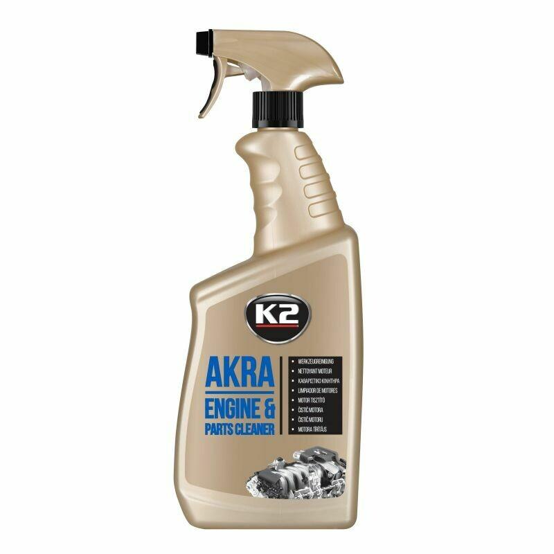 Очиститель двигателя биологически разлагаемый K2 AKRA, 770мл