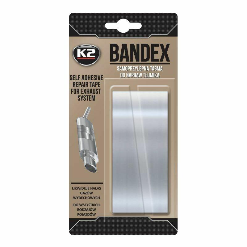 Термолента для ремонта глушителя K2 BANDEX, 5х100см
