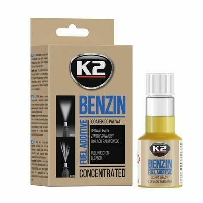 Присадка в топливо бензин K2 BENZIN GO!, 50мл