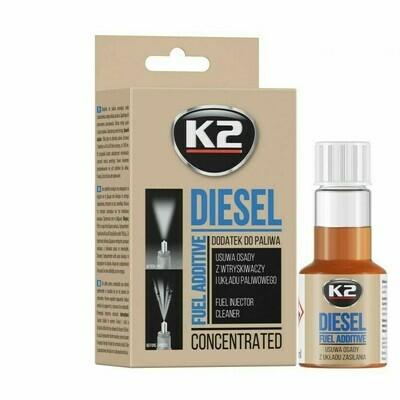 Присадка в дизельное топливо K2 DIESEL GO!, 50мл