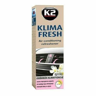 Очиститель кондиционера автомобиля Цветочный K2 KLIMA FRESH FLOWER, 150мл