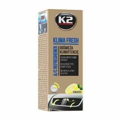 Очиститель кондиционера автомобиля Цитрус K2 KLIMA FRESH, 150мл