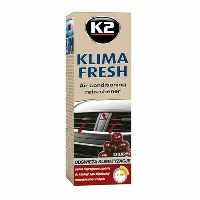 Очиститель кондиционера автомобиля Вишня K2 KLIMA FRESH CHERRY, 150мл