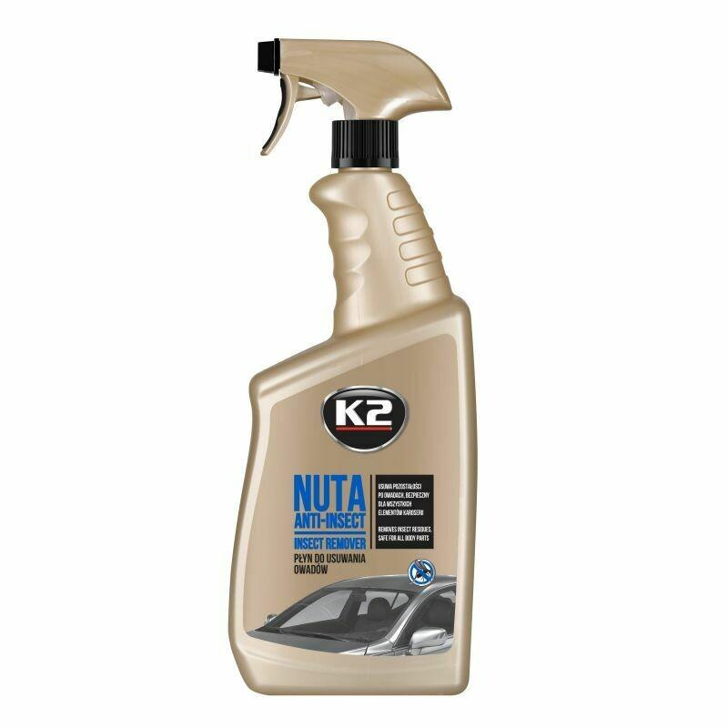 Очиститель стекол и средство для удаления насекомых K2 NUTA ANTI-INSECT, 770мл