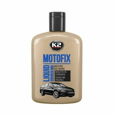 Полироль для кузова автомобиля с синтетическим воском K2 MOTOFIX, 200мл