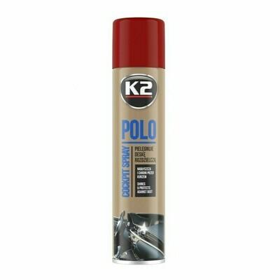 Полироль пластика для автомобиля Вишня K2 POLO COCKPIT CHERRY, 300мл