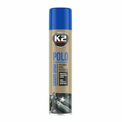 Полироль пластика для автомобиля Лаванда K2 POLO COCKPIT LAVENDER, 300мл