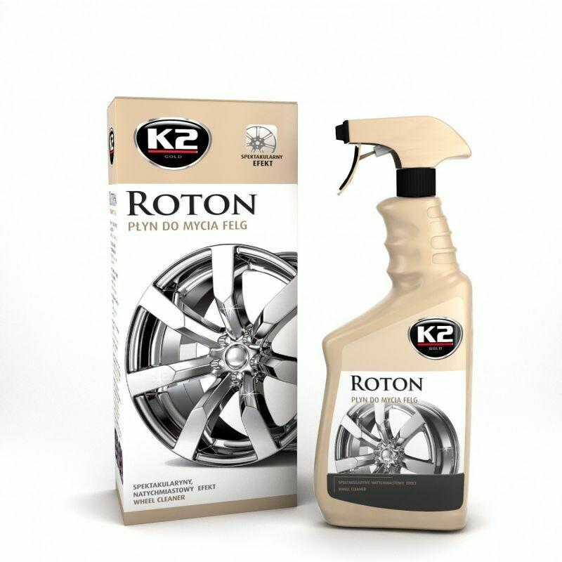 Очиститель дисков автомобиля с индикатором нейтральный K2 ROTON, 700мл