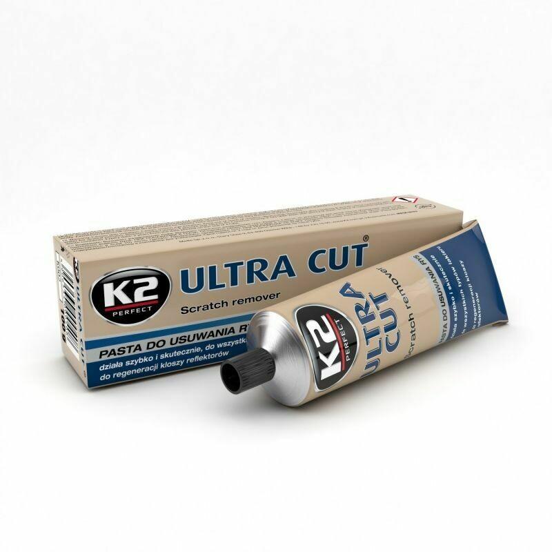 Полировальная паста для кузова абразивная K2 ULTRA CUT, 100гр