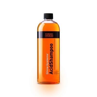 Автошампунь для ручной мойки кислотный Shine Systems AcidShampoo, 750мл