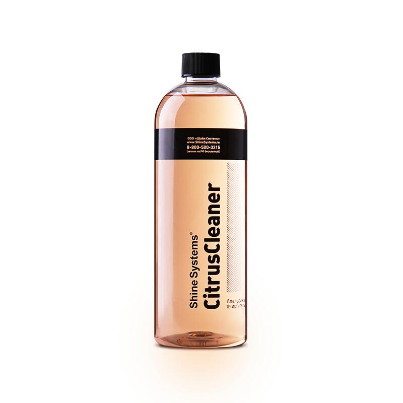 Очиститель краски, клея, жвачки апельсиновый Shine Systems CitrusCleaner, 750мл