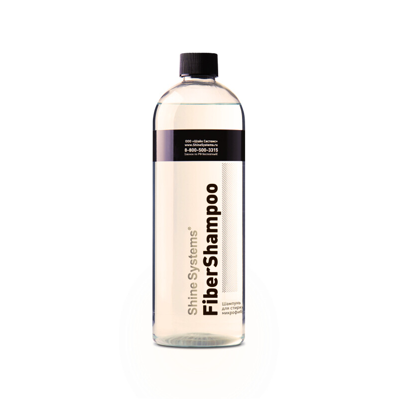 Шампунь для микрофибрых салфеток и полотенец Shine Systems FiberShampoo, 750мл