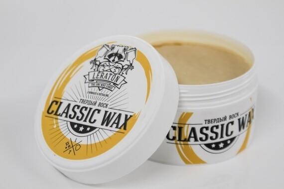 Твердый воск для кузова классической LERATON Classic Wax, 50мл