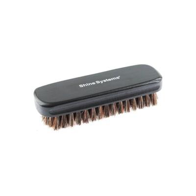 Щетка для чистки кожи с натуральной щетиной Shine Systems Leather Brush