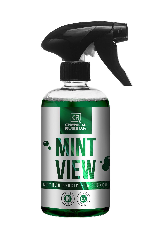 Очиститель стекол с антистатиком Мятный Chemical Russian Mint View, 500мл