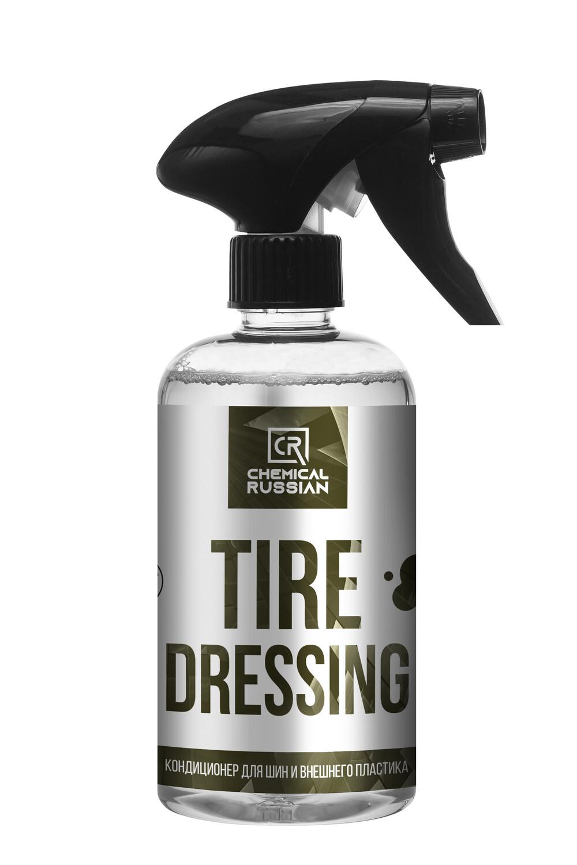 Кондиционер для шин и внешнего пластика Chemical Russian Tire Dressing, 500мл
