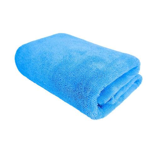 Полотенце для сушки мягкое микрофибровое профессиональное голубое PURESTAR TWIST DRYING TOWEL BLUE, 70х90см