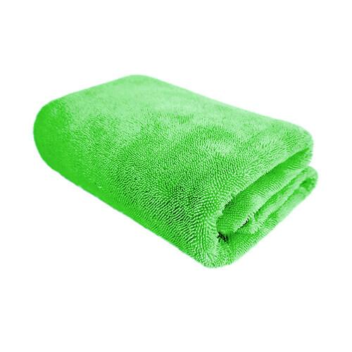 Полотенце для сушки мягкое микрофибровое профессиональное зеленое PURESTAR TWIST DRYING TOWEL GREEN, 70х90см