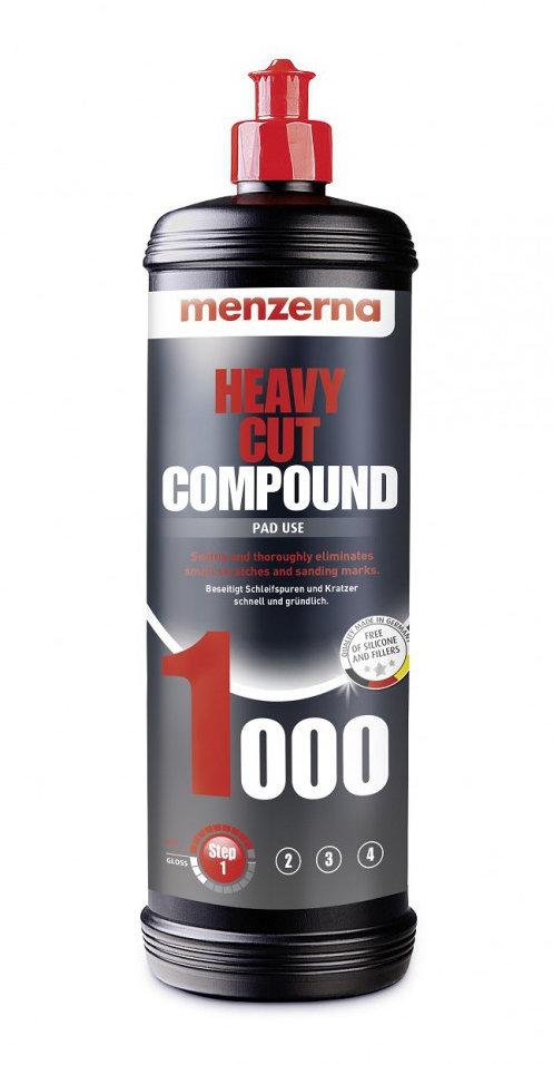 Полировальная паста Высокоабразивная MENZERNA 1000 HEAVY CUT (1л)