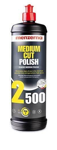 Полировальная паста Среднеабразивная MENZERNA 2500 MEDIUM CUT (1л)