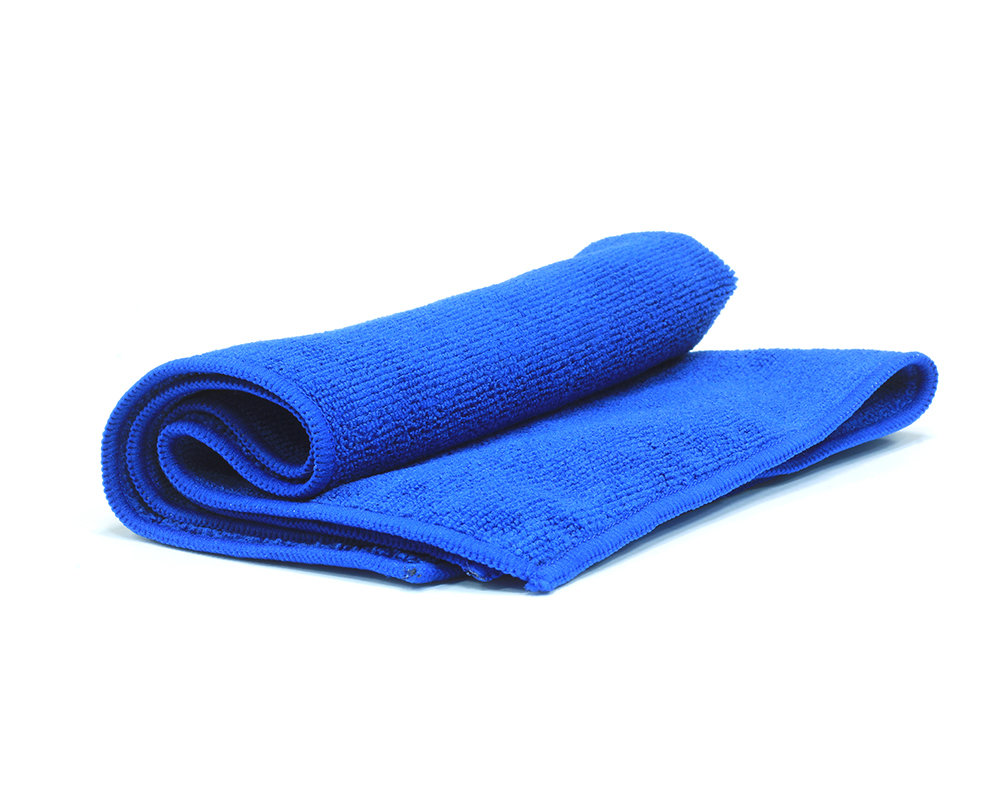 Салфетка из микрофибры JETA PRO Синяя полировальная (40х40см)