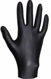 Перчатки нитриловые ультрапрочные JETA PRO Черные, размер XL