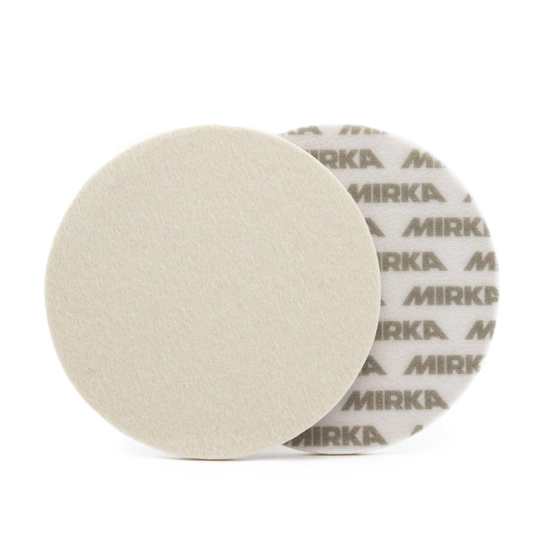 Полировальный круг для стекла Фетровый MIRKA (125мм)