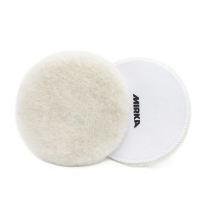 Меховой круг  из овчины MIRKA Lambswool Белый (150мл)