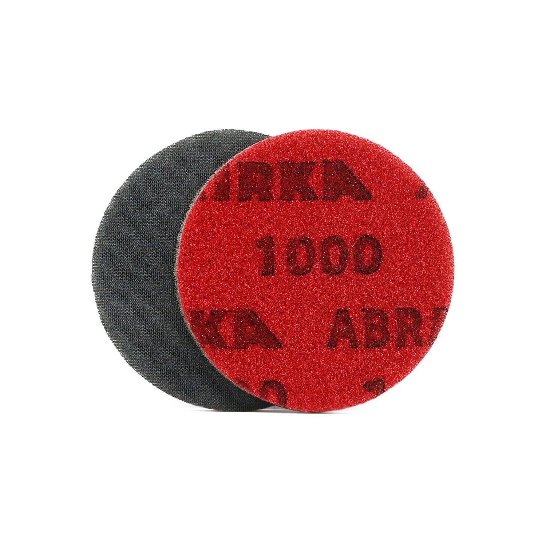 Круг шлифовальный на тканево поролоновой основе MIRKA Abralon P1000 (125мм)