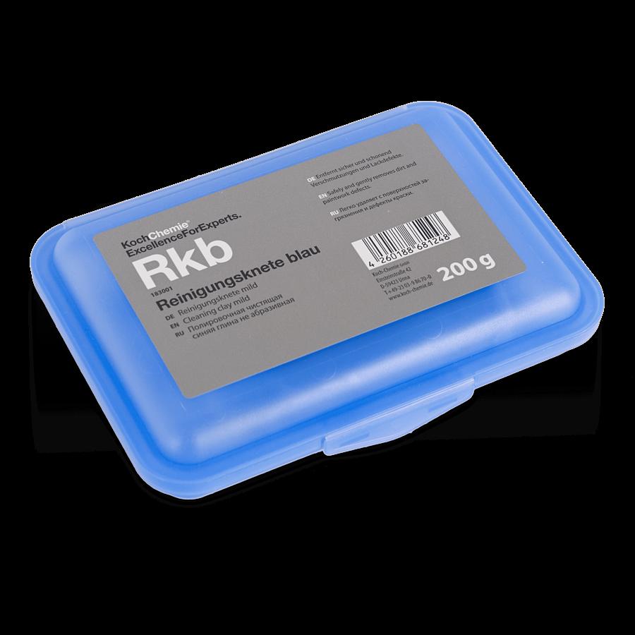 Абразивная глина для очистки кузова Koch Chemie Rkb REINIGUNGSKNETE BLAU (200гр) Синяя