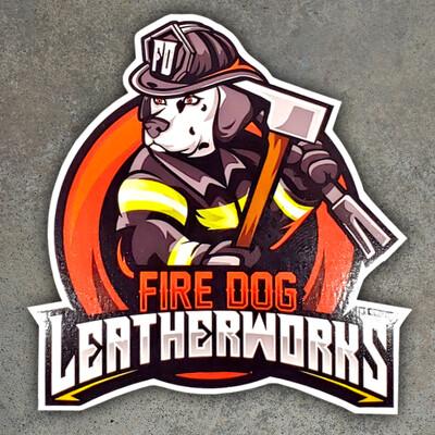Fire Dog Stickers