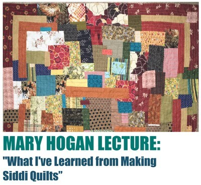 Lecture by Mary Hogan, January 16, 2021:
