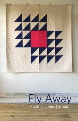Jan. 18, 2019 - Fly Away:  Large Scale Piecing - Heather Jones - Friday