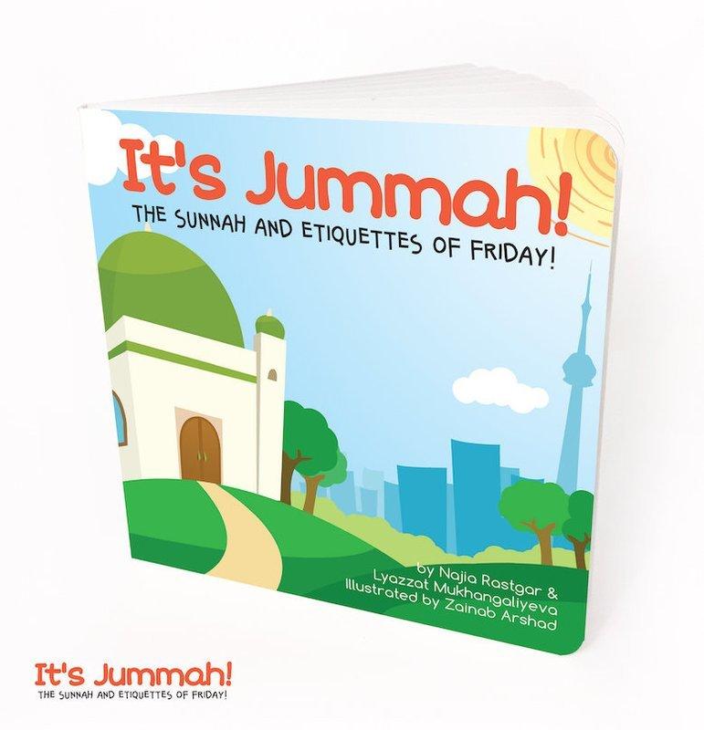 """""""It's Jummah!"""" Baby Board Book"""