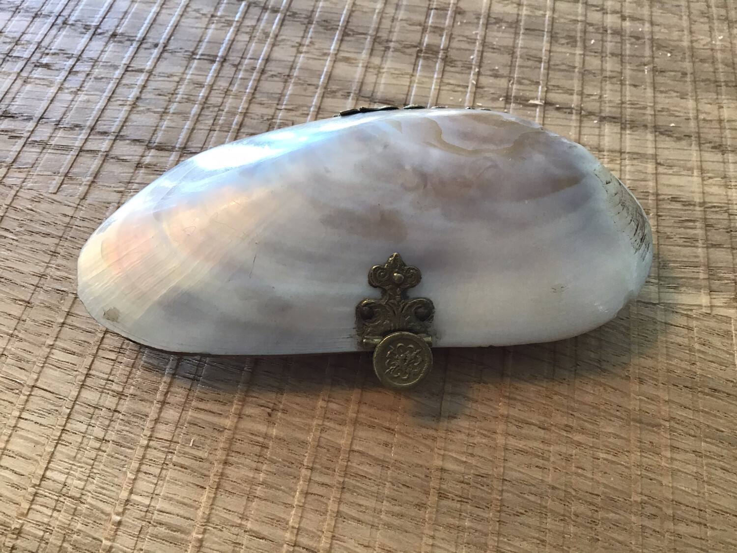 Victorian Mother of Pearl Purse - very unusual and rare