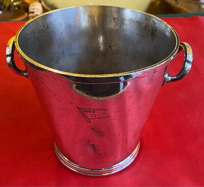 Walker & Hall Silver Plated Wine Cooler - Bergen Steamship Company