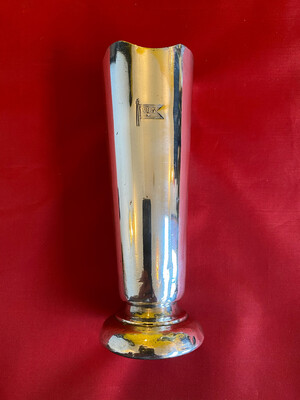 Silver Plated Table Vase - Bergen Steamship Company