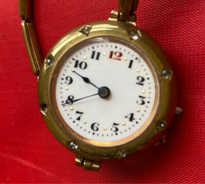 Vintage Ladies Wrist Watch - Swiss Made 'Medana' Movement - Not Working